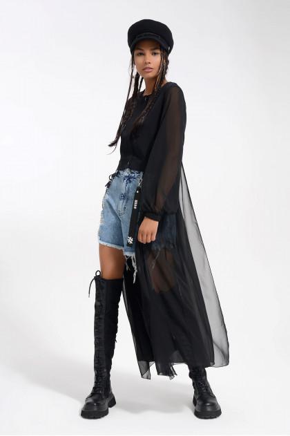 Průsvitný plášť