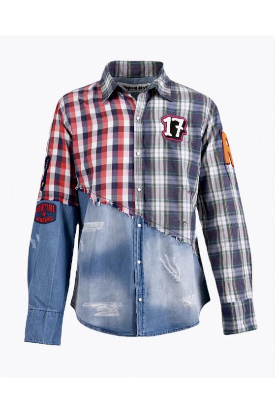 Jeansová košile